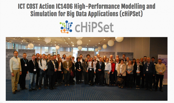 El Grupo de Tecnologías de la Información participa en la reunión ordinaria de la ICT COST Action IC1406 High-Performance Modelling and Simulation for Big Data Applications (cHiPSet)
